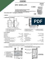 Coster - Ipg 318 - Scheda Tecnica
