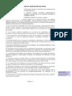 Temario revisado de Orientación Educativa