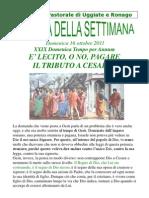 Agenda 16 Ottobre 2011