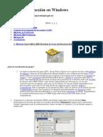 Seguridad y conexión en Windows