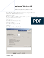 Utilidades ocultas de Windows XP