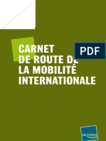 Carnet De Route 2011 De La Mobilité Internationale