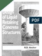 Design of Concrete Tanks