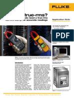 Why True RMS - Fluke