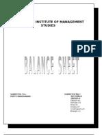 Balance Sheet 1062