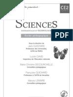 CE2 - Hachette - guide pédagogique Sciences Experimentales Et Technologie