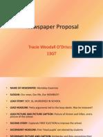 Newspaper Proposal