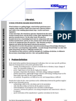 Gearing Analysis for Wind Turbine