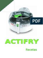 Recetas Actifry