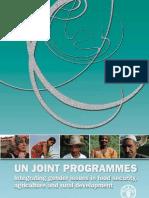 Integrating Gender in Agriculture - Fao