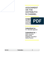 Final Copy of the Distribution Channel - Copy