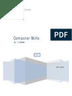 Computer Skills 2011-2012 Oct