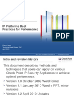 IP Platforms Best Practices for Performance 010810
