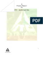 Marketing Management Project _ITC-Aashirvaad-Atta