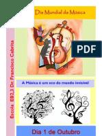 cartaz Dia Mundial da Música
