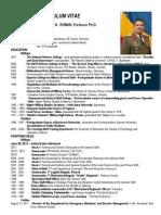 CV Gl. mr. (rtr.) prof. univ. dr. Nicolae N. ROMAN