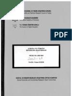 türkiye değerler araştırması 2003
