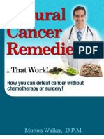Natural Cancer Remedies Revised 07-08-09