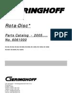 Geringhoff Rota Disc 2005