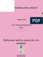 Curs 1 - 2011 - Introducere Android