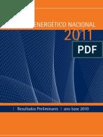 Balanço Energético Nacional - 2011