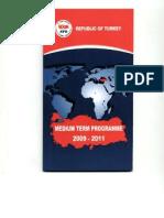 2009-2011 Medium-Term Programme