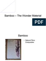Bamboo used