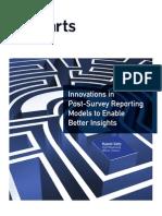 iCharts Whitepaper Innovations in Post Survey Reporting v1
