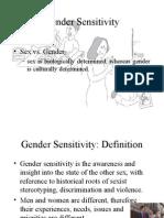 Gender Sensitivity