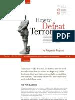 How to defeat terrorism - Benjamin Kuipers