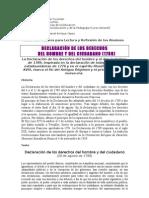 20. Declaración de los Derechos del Hombre y del Ciudadano