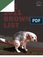 Brown List 2011