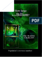 How LARGE is a BILLION?