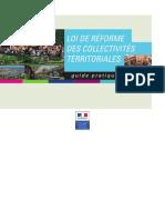 MinistèreIntérieur - Guide - Réforme des collectivités territoriales - 2011