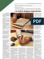 Entrevista José Ramón Bauzá en El Mundo