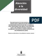 Instrumetos evaluación _TDAH_DEA curso 2011-12