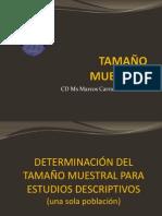 TAMAÑO MUESTRAL