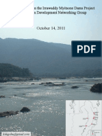 Update on the Irrawaddy Myitsone Dams Project-KDNG-engl