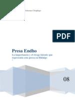 Presa Endó en Hidalgo