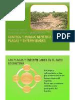 Control y Manejo genético de plagas y enfermedades