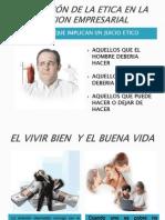 APLICACIÓN DE LA ETICA EN LA ACCION EMPRESARIAL