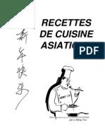 Recettes de cuisine asiatique - chinoise viet indienne