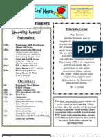 AppleTree Montessori Newsletter Sep 2011