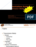 MSIS 4523 Ch7.Transmission Media