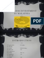 Bussiness Investment in Malaysia