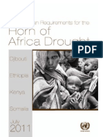 Humanitarian Requirements for the Horn of Africa Drought