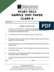 Resonance Start Examination Paper