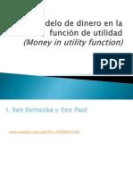 El Modelo de Dinero (MIU)