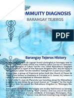 Commuity Diagnosis Ppt