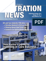 The Challenge of Filtering Heavy Feed Stocks | Article from Filtration News - October 2011